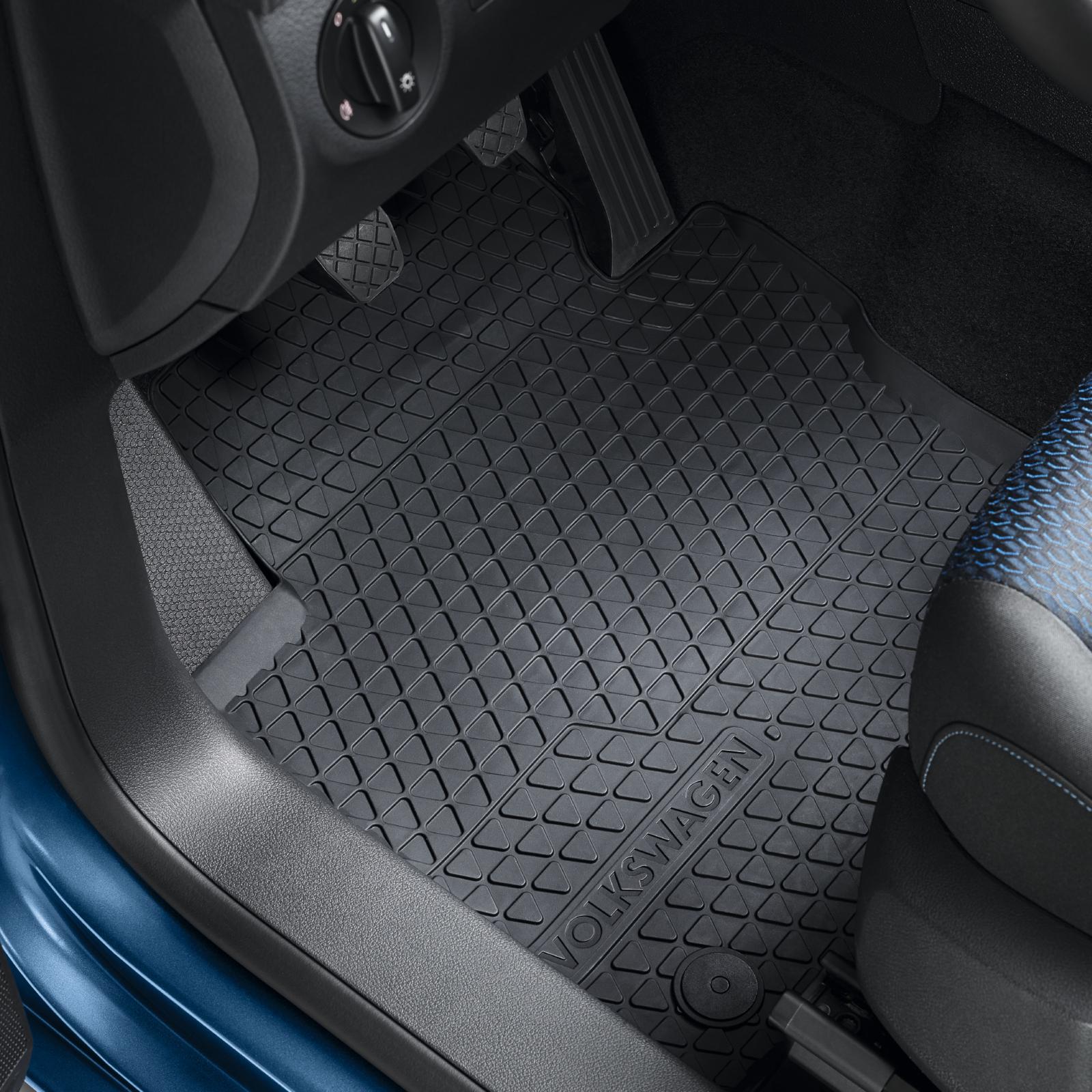 Volkswagen Allwetterfußmatten Gummimatten VW Sharan 7N vorn/hinten 7N1061500041
