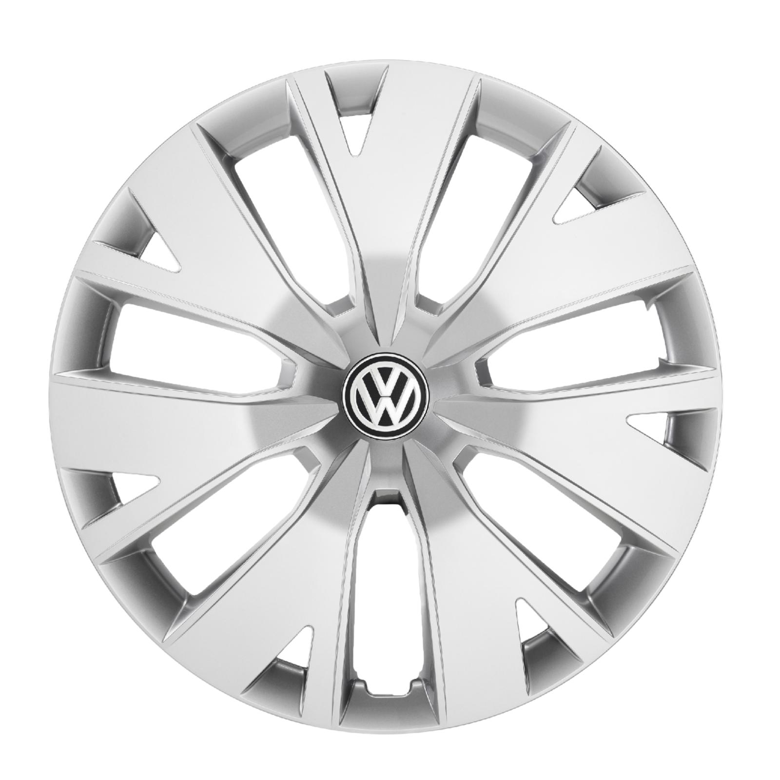 Original VW T-Cross Radkappen Set 16 Zoll Radzierblenden Brillantsilber 2GM071456