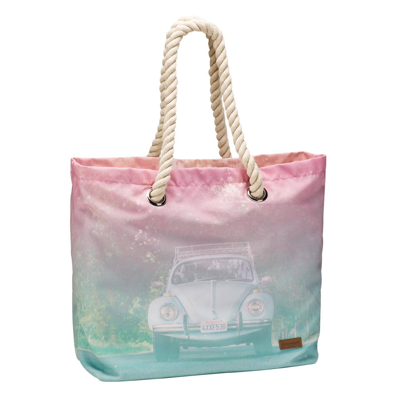 Strandtasche, Käferprint