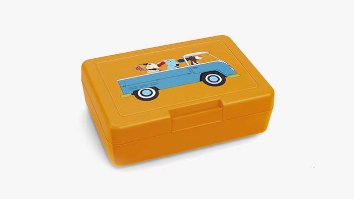 Original Volkswagen Kinder Brotdose Ted Turbo NEU