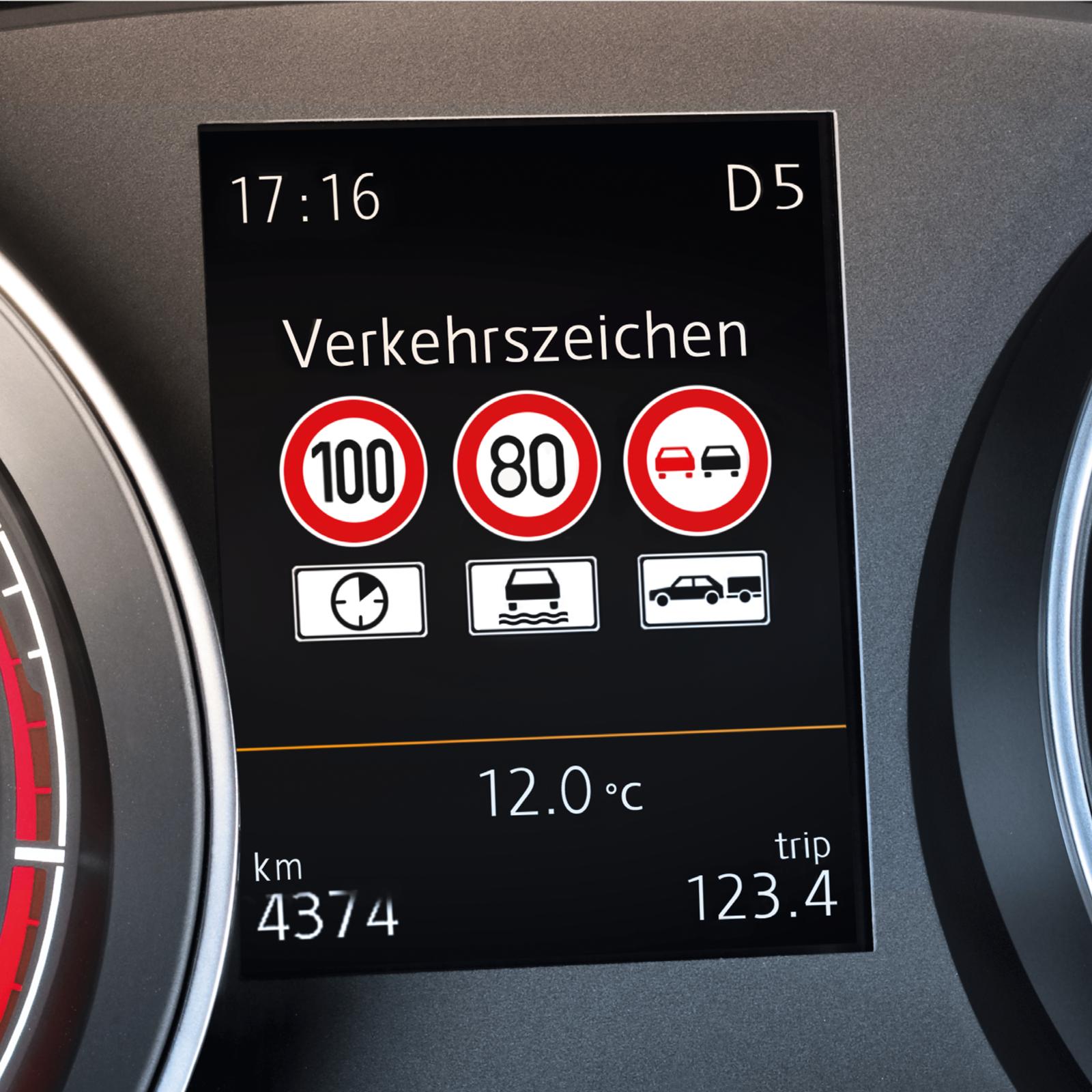 Verkehrszeichenerkennung zum Nachrüsten