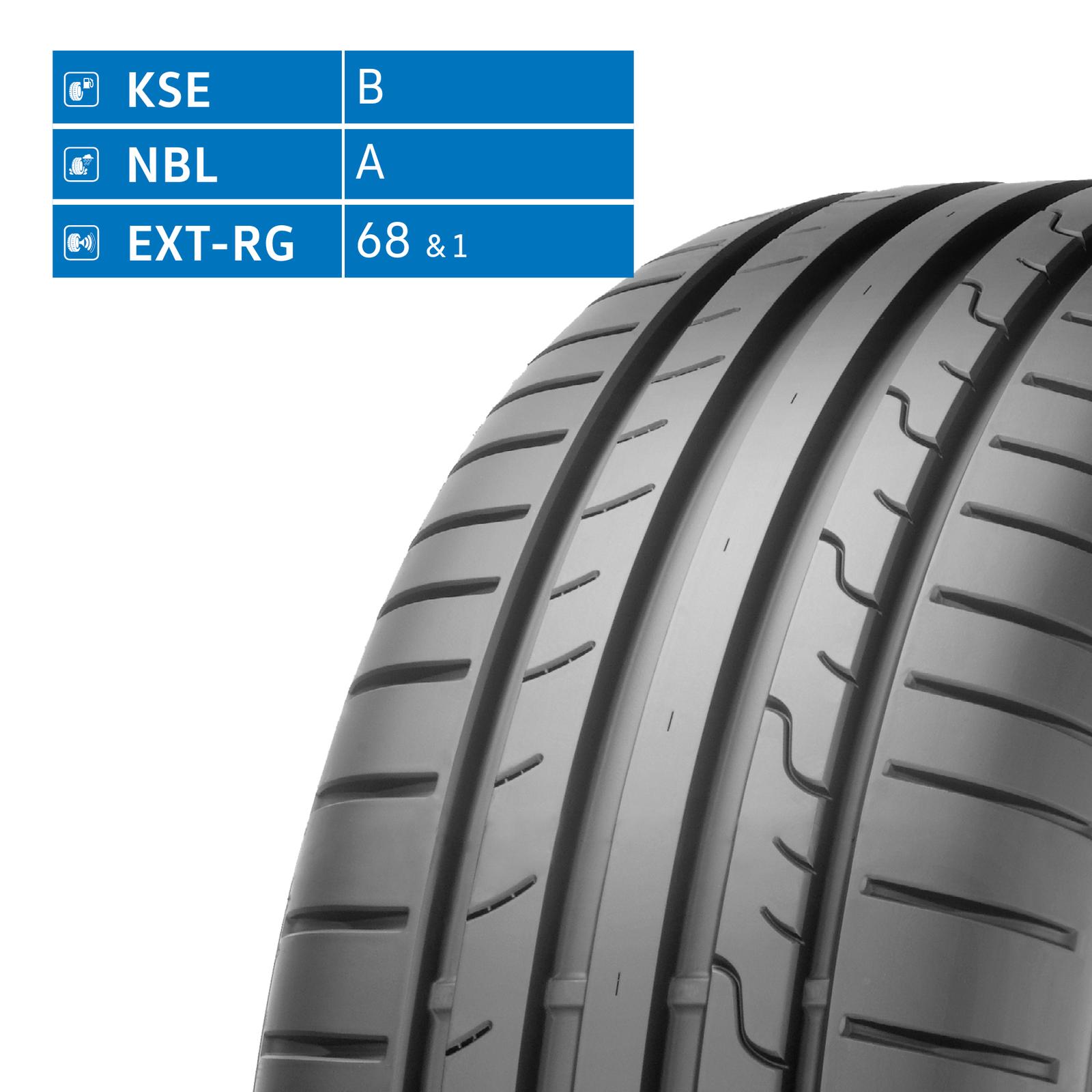Sommerreifen 205/55 R16 91W Dunlop Sport BluResponse