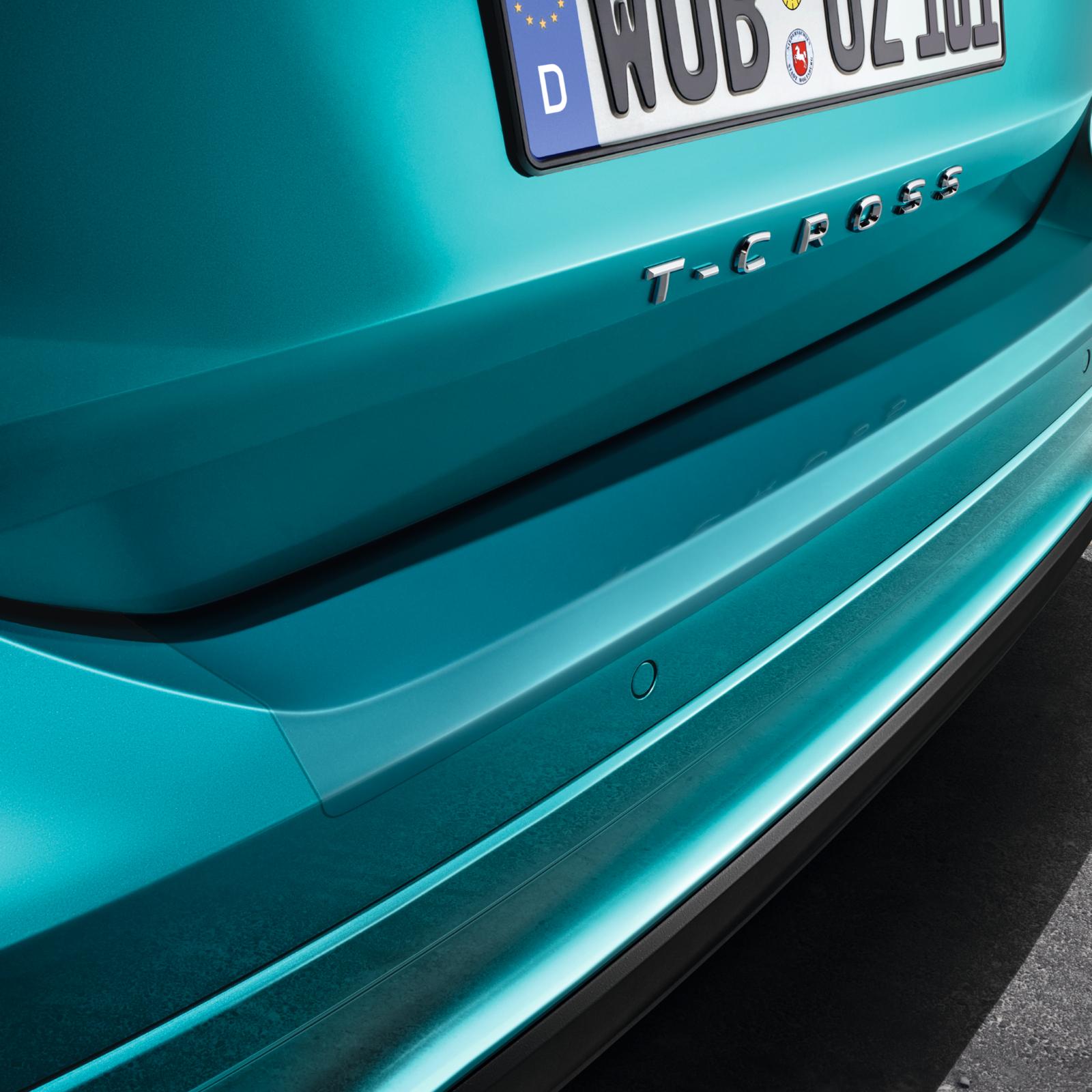 Volkswagen Ladekantenschutzfolie transparent Schutz Folie VW T-CROSS 2GM061197