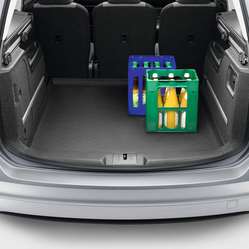 Original Volkswagen Gepäckraumeinlage Kofferraumeinlage flexibel VW Sharan