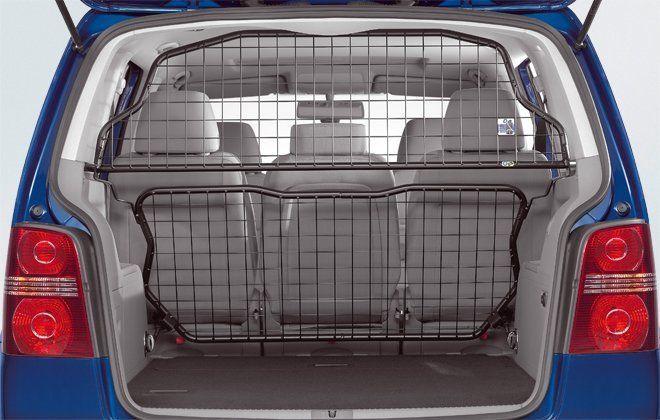 Original Volkswagen Trenngitter Gepäckraumschutz VW Touran NEU