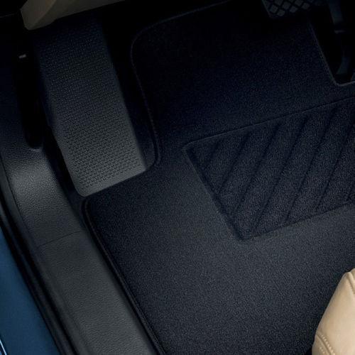 Original Volkswagen Satz Fußmatte Automatte Textil hinten VW Polo IV
