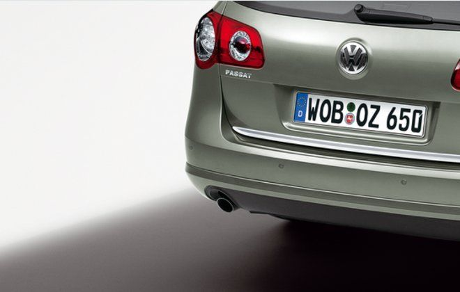 Original Volkswagen Rückfahrwarner Einparkhilfe VW Passat VI VII Limo Var NEU