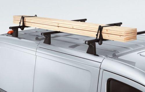 Original Volkswagen Winkelstützen rechteckig Dachtransport VW Caddy LT T4 NEU