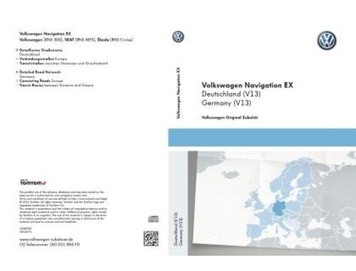 Original Volkswagen Navigationssoftware CD-ROM Deutschland für RNS 300 NEU