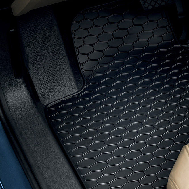4- teiliger-Satz Volkswagen Gummimatte Passat VIII vorn und hinten