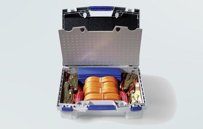 Original Volkswagen Ladungssicherung-Set, Ratsche Fixiergurt VW T5, Crafter NEU