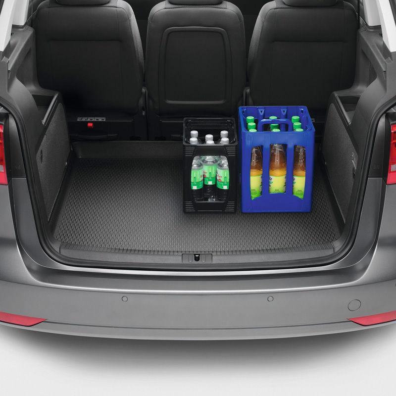Original Volkswagen Gepäckraumeinlage Kofferraumeinlage flexibel VW Touran