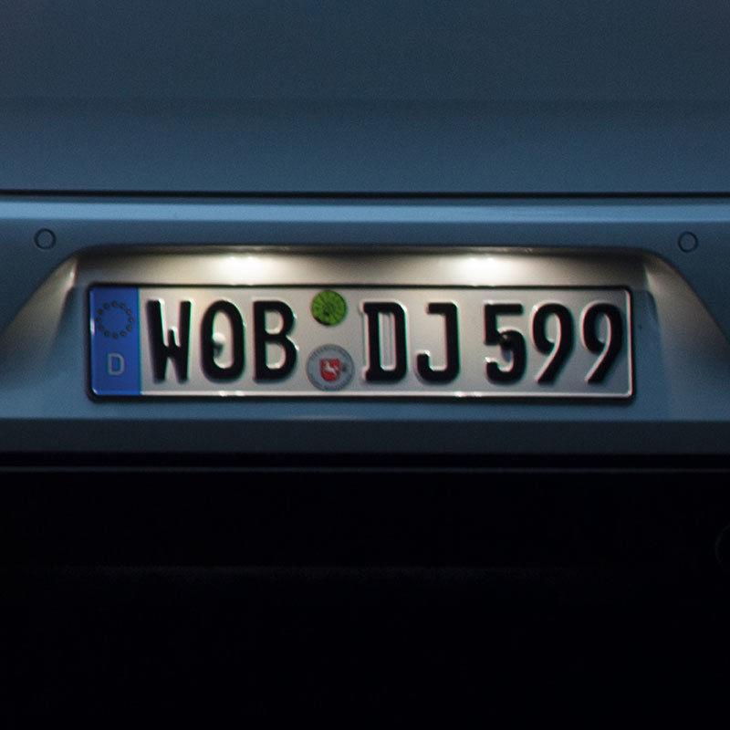 LED-Kennzeichenleuchte von Volkswagen Zubehör