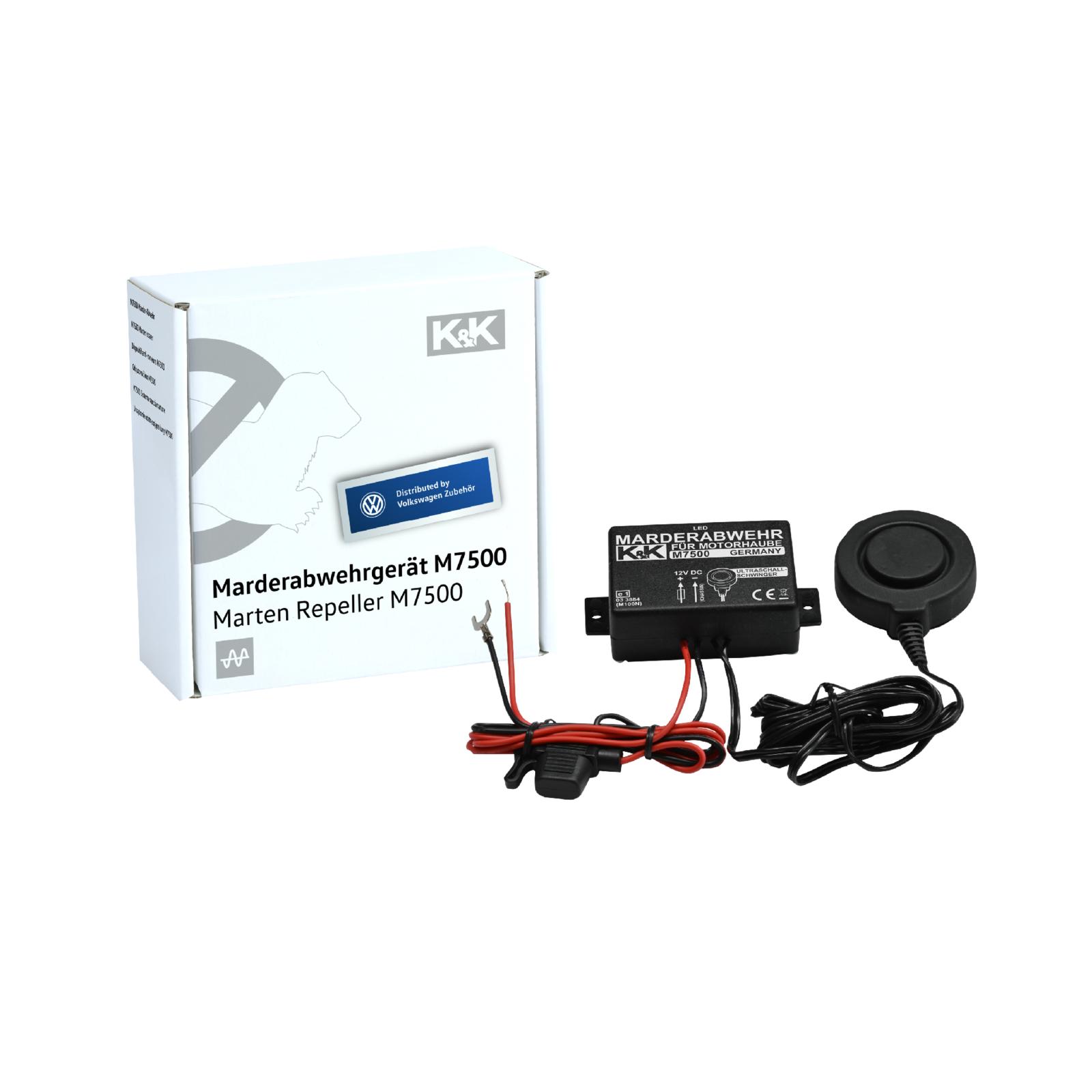 K&K Marderschutz Marderabwehr M7500 Ultraschallgerät 23 kHz 110 dB(A) 000054650H