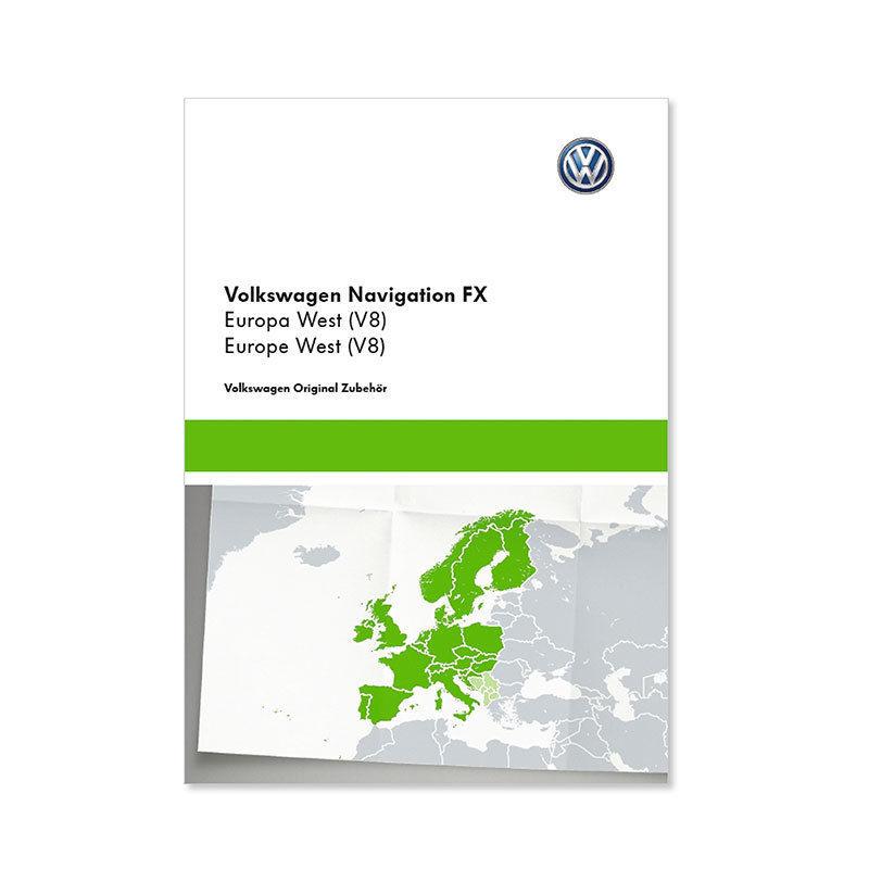 Volkswagen Original Navigations-Updates, SD Karte, RNS 315, AZ Europa West (V9)