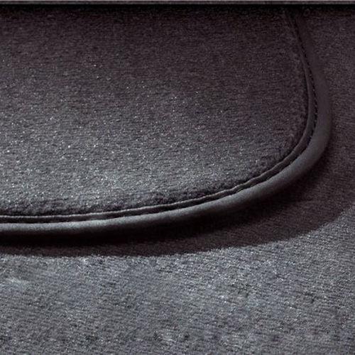 Original Volkswagen Satz Textilfußmatte Premium 1.Sitzreihe VW T5 schwarz NEU
